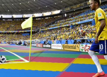 FIFA Will Replace Couch-grass With A Baby Mat Floor To Protect Neymar