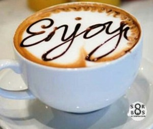 enjoy coffe