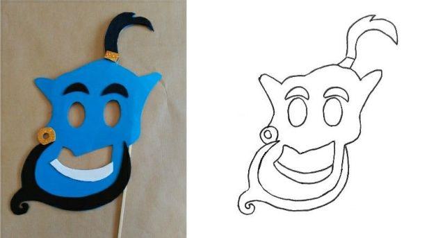 8-sorbos-de-inspiración-diy-photocall-princesas-genio-de-Aladdin