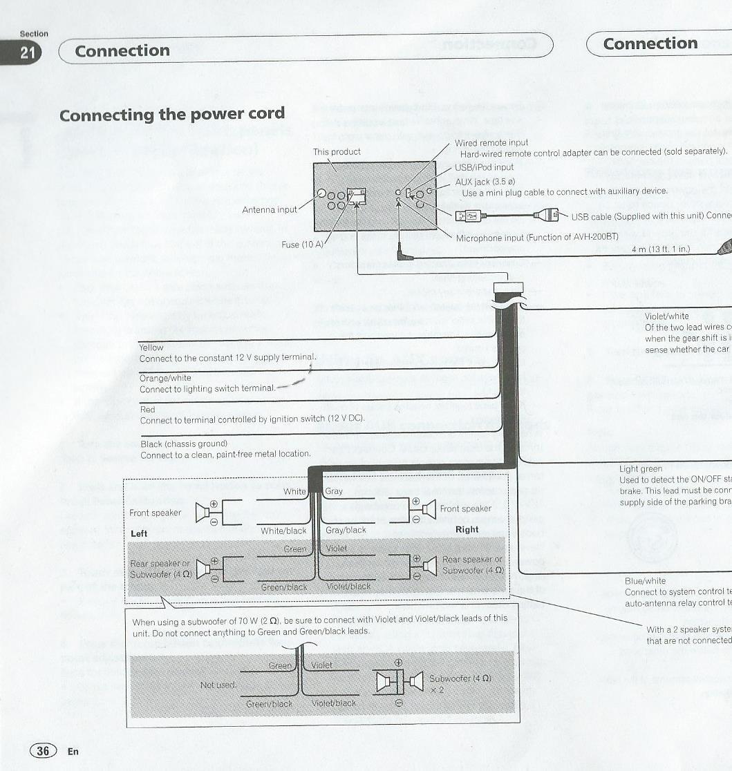 pioneer avic n1 wiring diagram roslonek net, wiring, wiring diagram avic n1 car dvd player