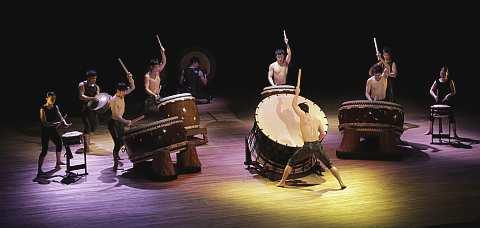 Kodo japanische Trommelgruppe