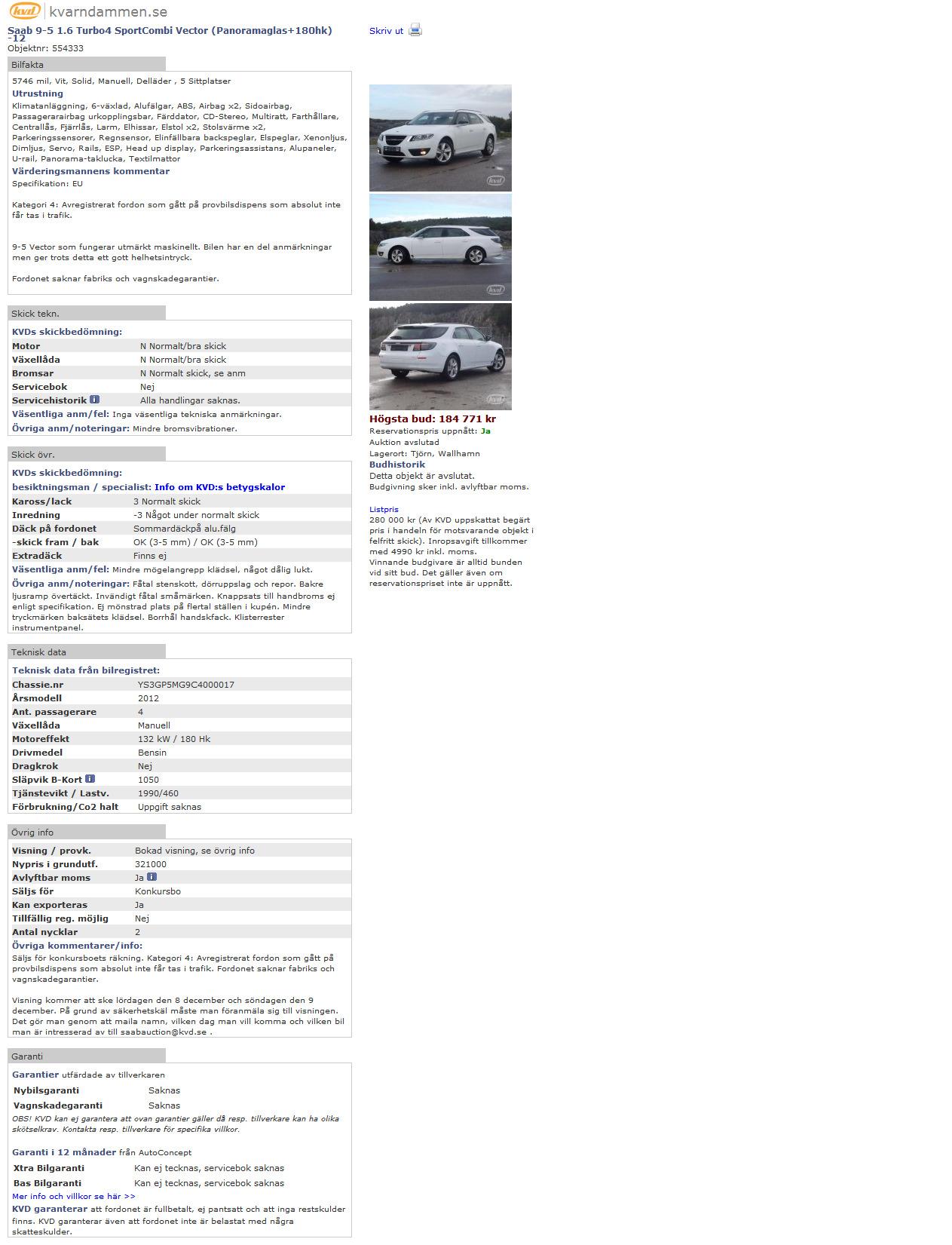 Nr 17 Ys3gp5mg9c Kvd Saab 9 5ng