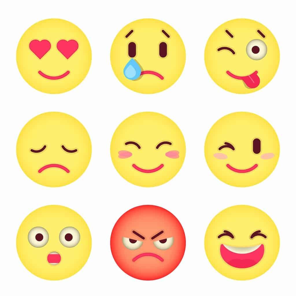 Emoji Peace Bisexual Akward Meme Reaction Kiss Smiley Hd