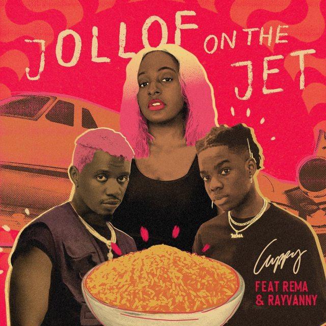 DJ Cuppy Jollof On The Jet ft. Rema & Rayvanny