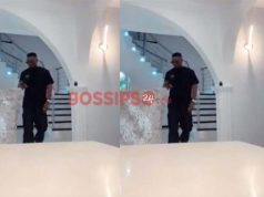 Rapper Sarkodie puts his all-white livingroom on display (video)