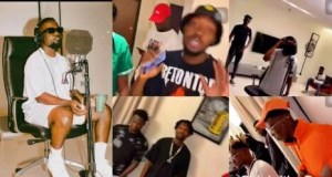 Sarkodie Features KiDi, J-Derobie, Fameye, Tulenkey And Quamina MP On An Upcoming Music Project (Video).