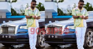 Sarkodie Busted For Hiring A Rolls Royce For A Photoshoot Session.