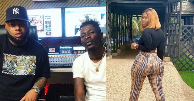 Shatta Wale fights D-Black over 18-year-old curvy lady