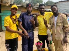 "Photos: Ras Moko Shoots Video For His Insightful Music ""Police """