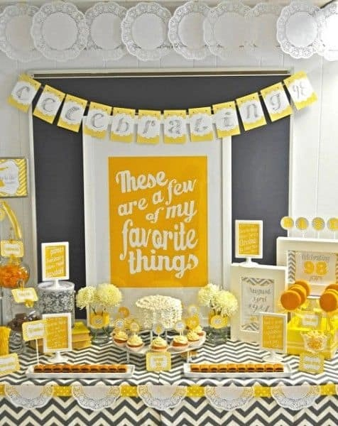 90th Birthday Party Ideas 100 Ideas For A Memorable 90th Birthday Celebration