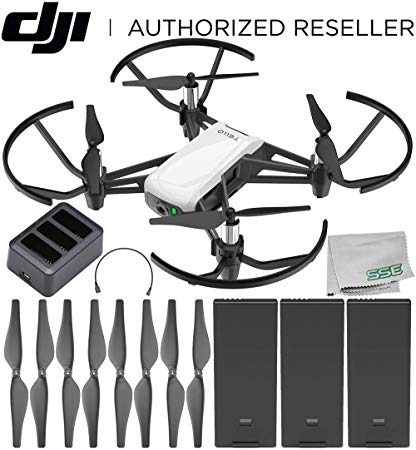 Powered By DJI Tello Boost Combo 3 Batteries//Charging Hub