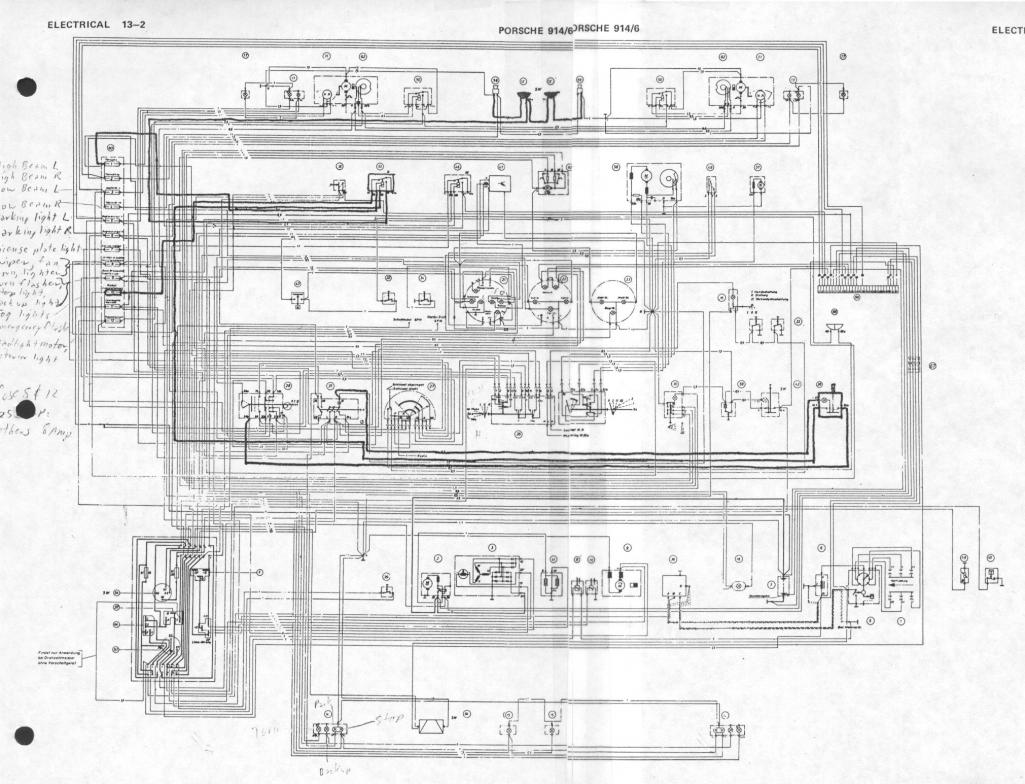 porsche 914 wiring diagram