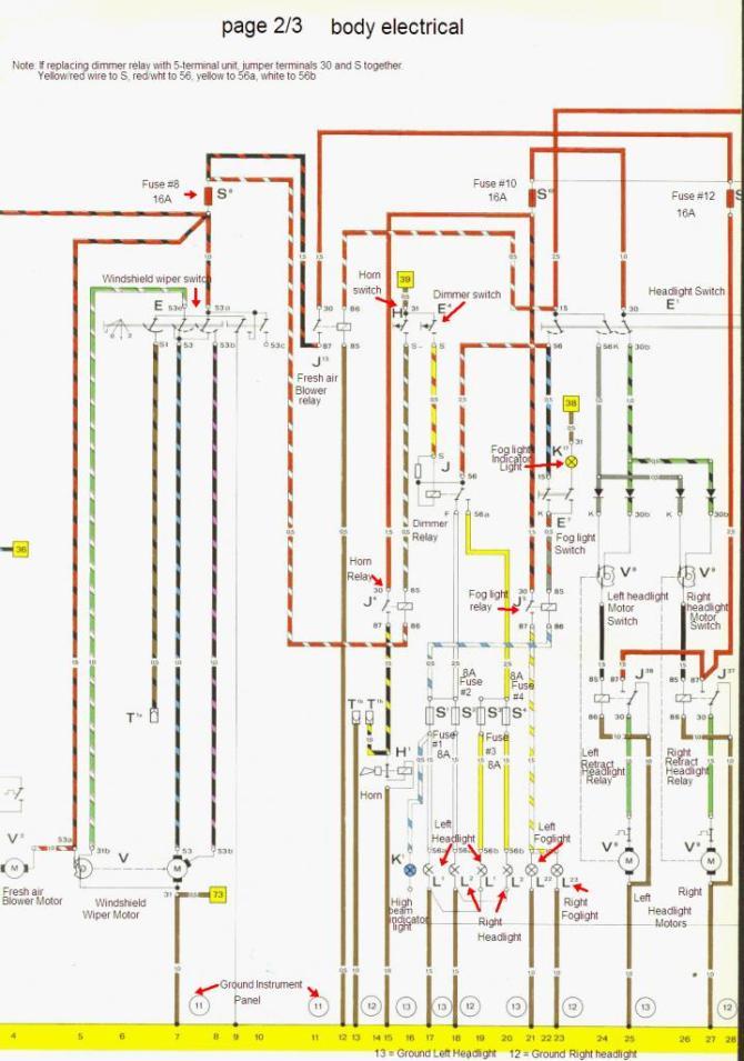 74 porsche 914 wiring diagram  wiring diagrams database shy