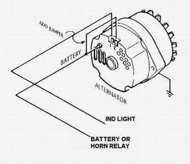 jeep cj alternator wiring  wiring diagrams database pipe