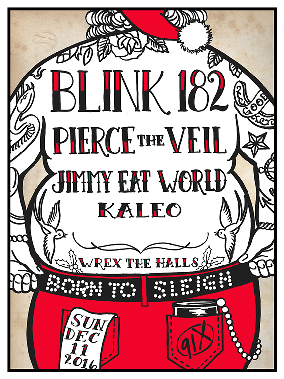 Image result for 91x wrex the halls 2016