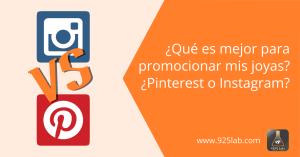 925lab - Instagram vs Pinterest