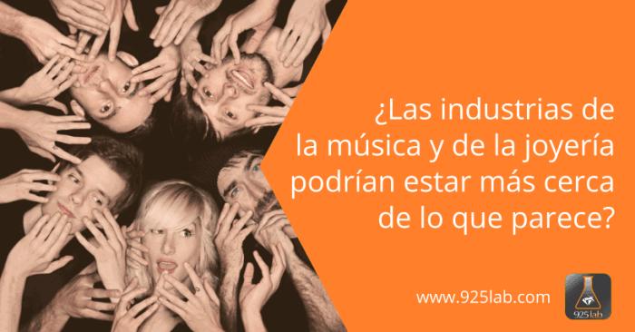 925lab - Similitudes industrias musica y joyeria