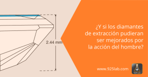 925lab - Diamante naturo-sintético