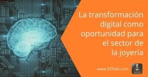 """Conferencia.- """"La transformación digital como oportunidad para el sector de la joyería"""""""