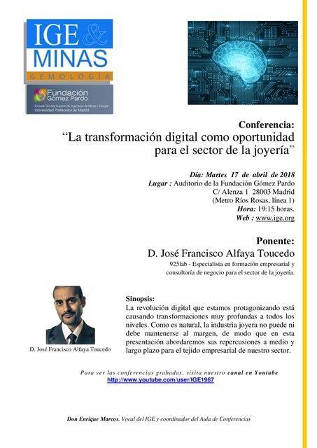 La transformación digital como oportunidad - Dossier IGE