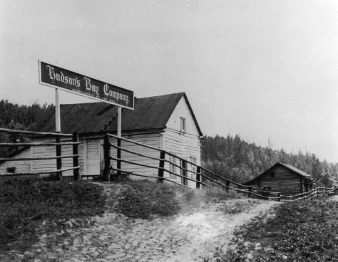 Trading Post in Lower Post, B.C.