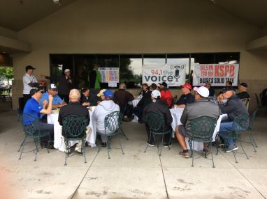 Lunch Time - 2017 Golf Tournament
