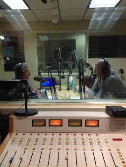 Dale Stagg in studio - India is Listening 2016