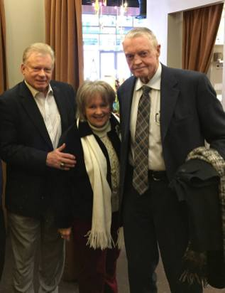 Skip Hall, Virginia Hall, Tom Osborne
