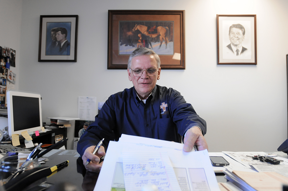 Bill Roscoe, CEO of the Boise Rescue Mission