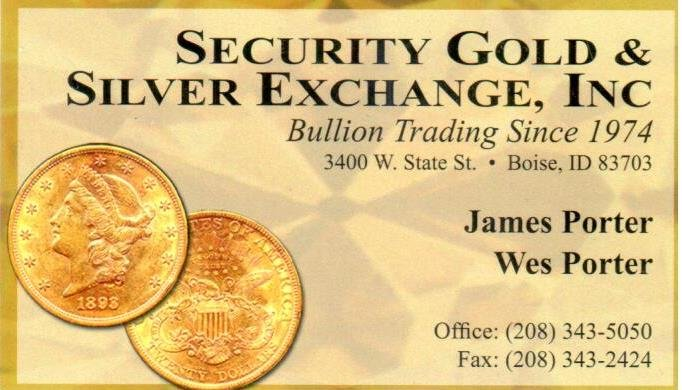 Security Gold and Silver