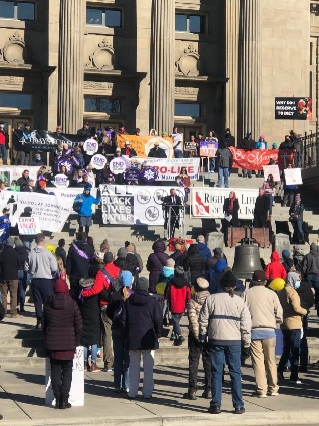March For Life Rally at the State Capitol