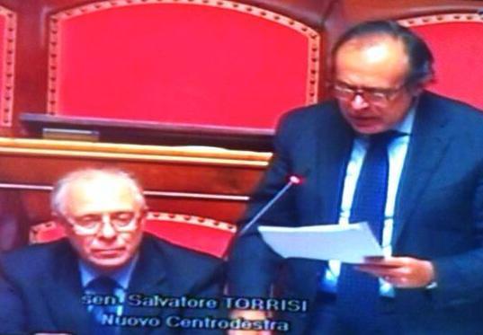 Torrisi vice-presidente della Prima commissione al Senato