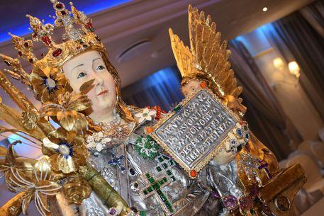 CATANIA: Busto di Sant'Agata in cake design nella chiesa di Sant'Agata la Vetere – LE FOTO