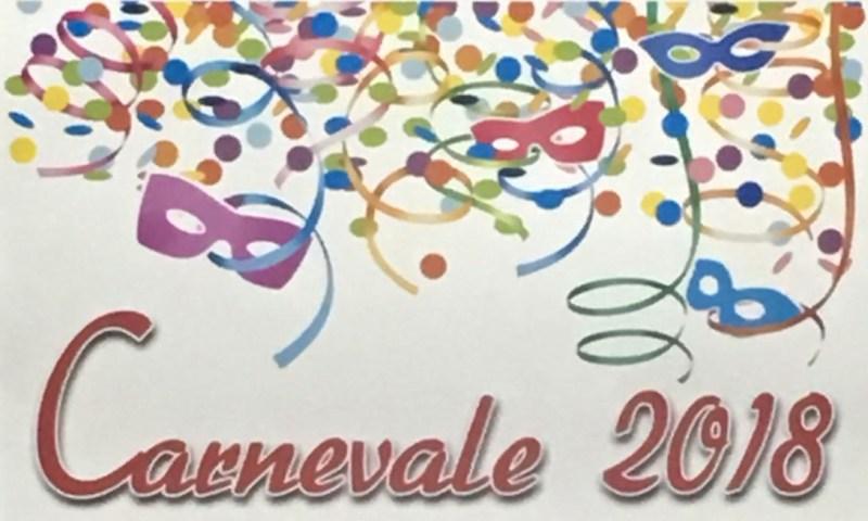 PATERNO': Carnevale 2018- PROGRAMMA