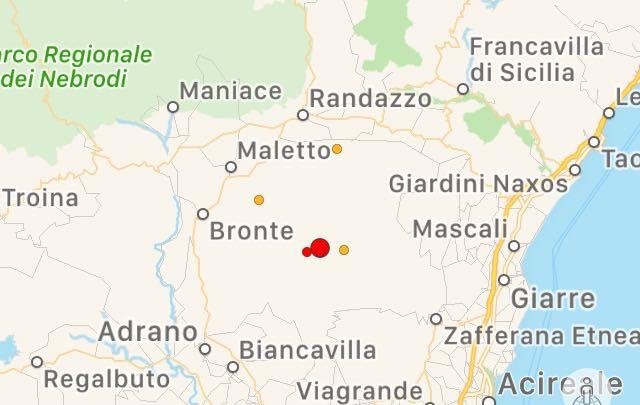 Terremoto, scossa pochi minuti fa, epicentro Maletto