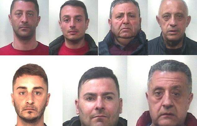 Mafia ed estorsioni: blitz nel catanese, 7 arresti