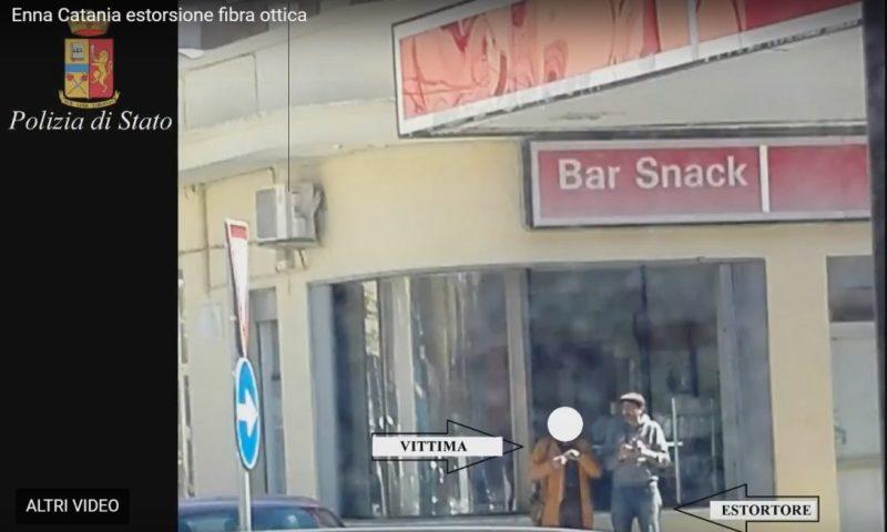 Pizzo sui lavori per la messa in posa della fibra ottica, 6 arresti fra Catania ed Enna
