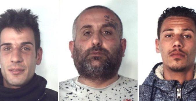 CATANIA: Trovati con droga e soldi in contanti, tre arresti a Catania