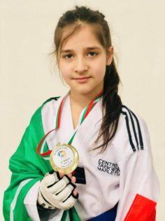 PATERNO': TAEKWONDO MARLETTA Asia Marletta ORO in Bulgaria