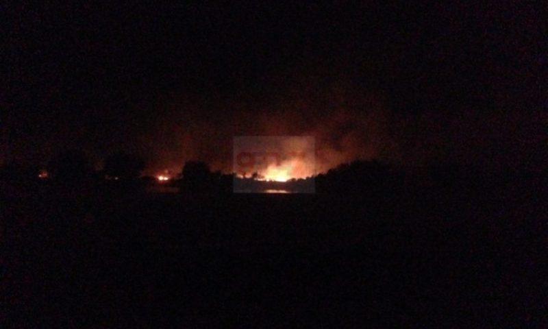 PATERNO': Vasto incendio sterpaglie alle Salinelle – (Foto e Video)