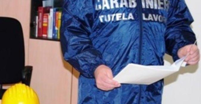 CATANIA: SEQUESTRATO UN CANTIERE E DENUNCIATI DUE IMPRENDITORI
