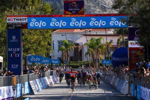 Il giro di Sicilia 2021 - Tappa2 - Da Selinunte a Mondello a Licata Km 173