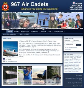 967 are proud of their new website