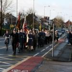 967 Sqn Remembrance Parades 2012