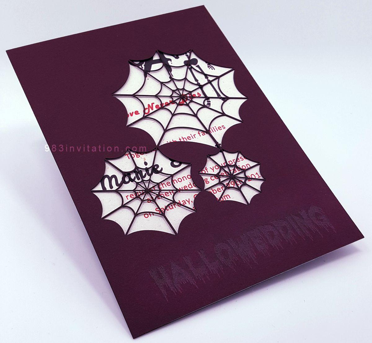 halloween spider in love 983 wedding