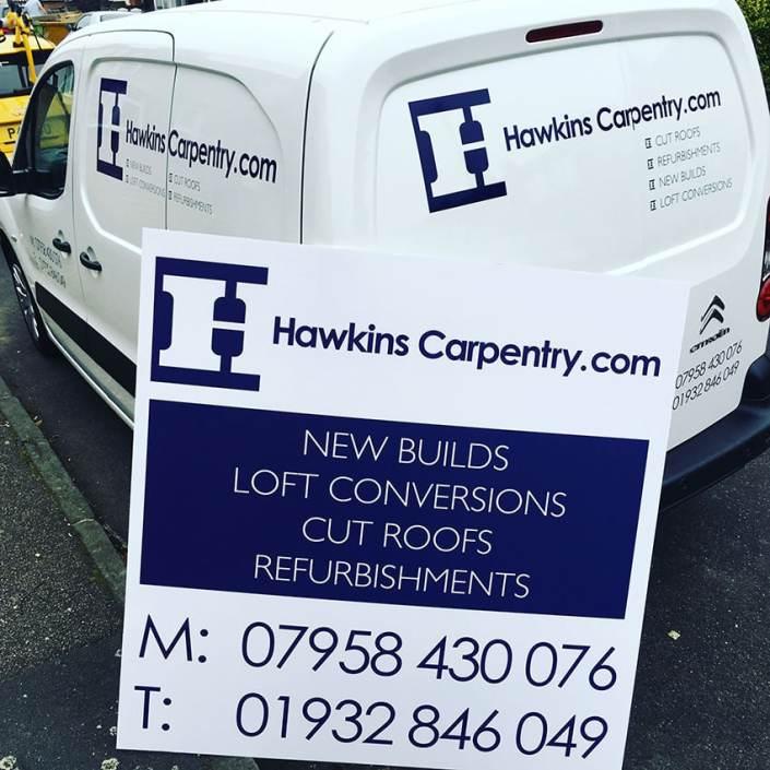 cut vinyl vehicle graphics for tradesmen