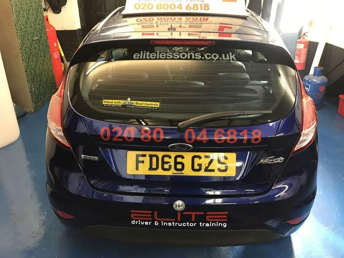 cut vinyl vehicle graphics for driving instructor