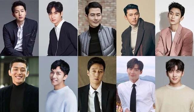 10 Aktor Korea Termahal Dan Terbaik 2020 Apakah Ada Idola Kamu