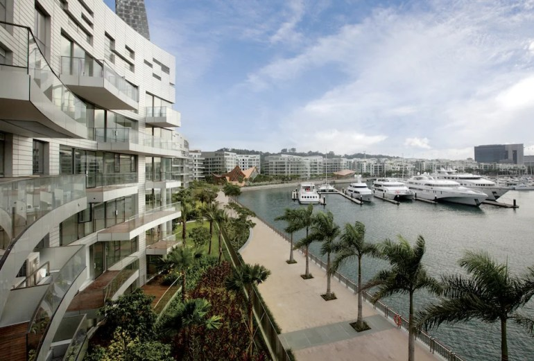 Prices of Sentosa Cove Condominimums Down A Whopping 36% From Its 2011 Peak. Image Credit: 99.co