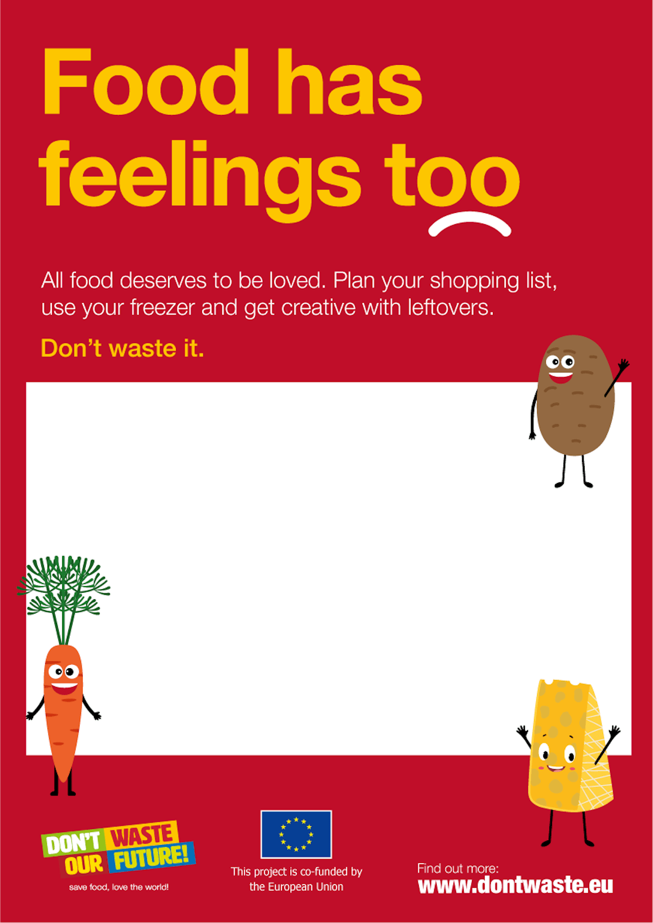 Advertising Campaign To Fight Food Waste